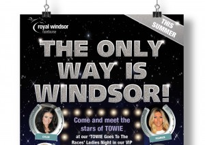 Royal Windsor - TOWIE poster close-up